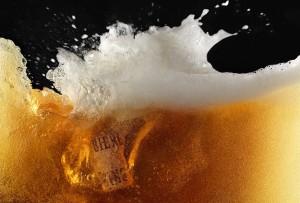 bière splash bouchon